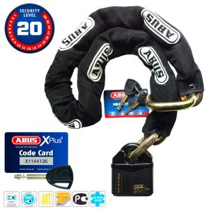 Abus Granit Power Chain 37RK/80 + 14KS120 láncos lakat